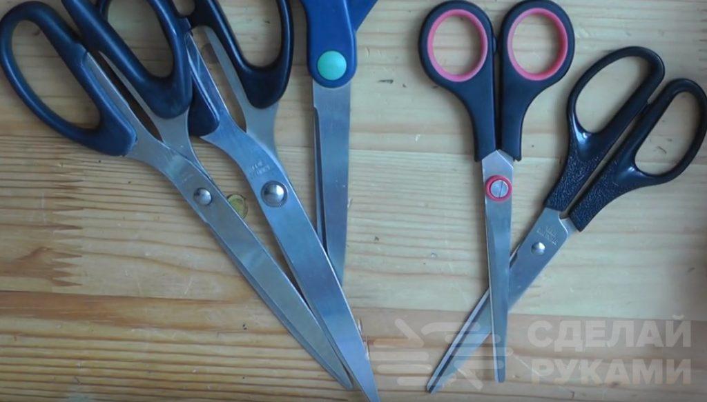 Как правильно наточить бытовые ножницы Самоделки