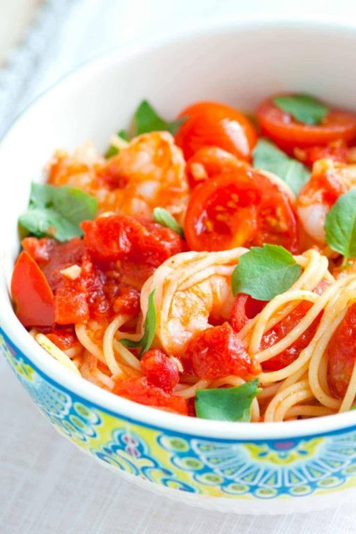 Спагетти с креветками в сливочном соусе: рецепты приготовления Кулинария