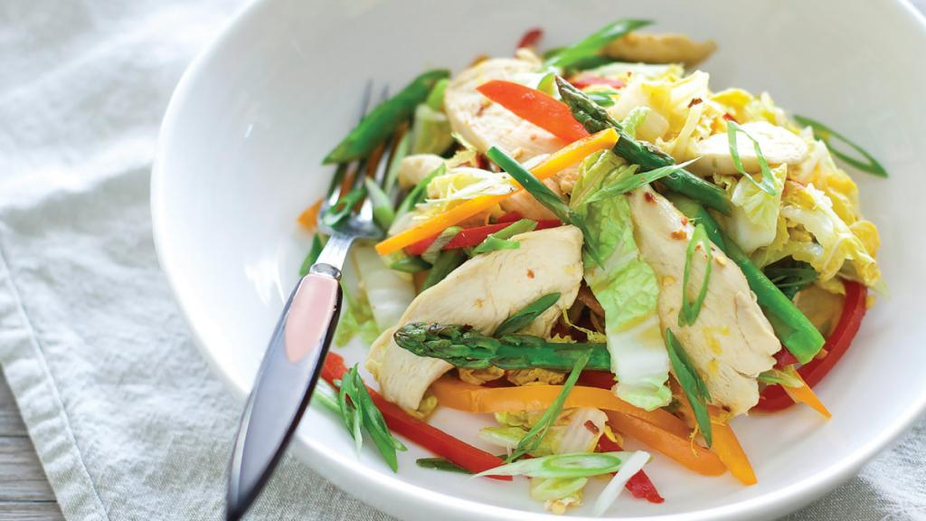 Салат с пекинской капустой, ананасом, курицей: рецепт с фото Кулинария