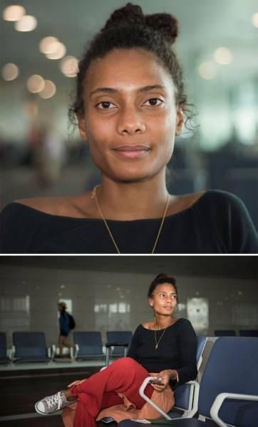 100 лиц из 100 стран: эмоциональные портреты из стамбульского аэропорта Интересное