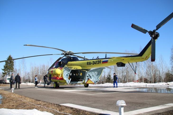 Новый вертолет санитарной авиации для Карелии события,Новости,сделано у нас