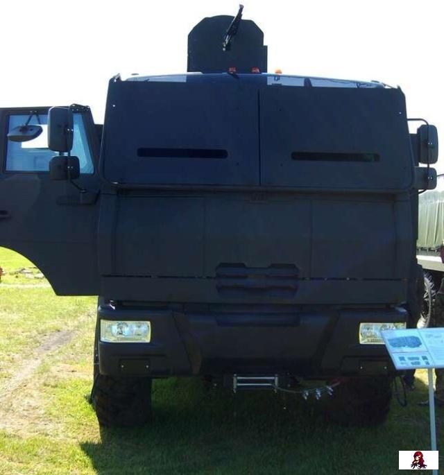 Бронеавтомобиль «Горец-ССН», созданный по заказу Росгвардии. Авария