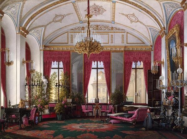 Красивая жизнь: покои императрицы Марии Александровны История