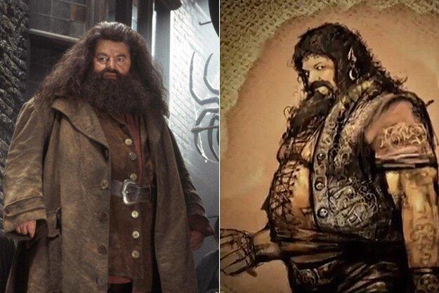Не родись красивым: первые концепты знаменитых голливудских персонажей   Интересное