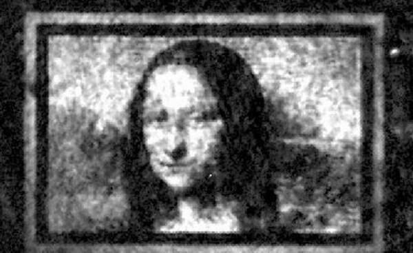 Австралийские ученые воссоздали на квантовом холсте миниатюрную копию «Моны Лизы» Интересное