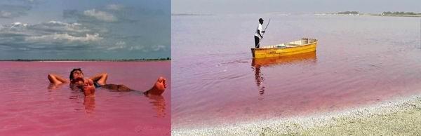 Самые уникально окрашенные озёра в мире Интересное