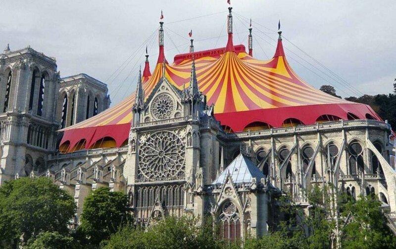 9 самых безумных проектов реконструкции Нотр-Дама Интересное