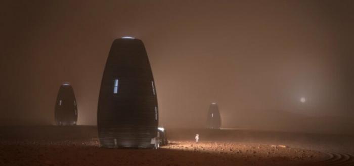 Стало известно, как будут выглядеть жилища на Марсе Интересное