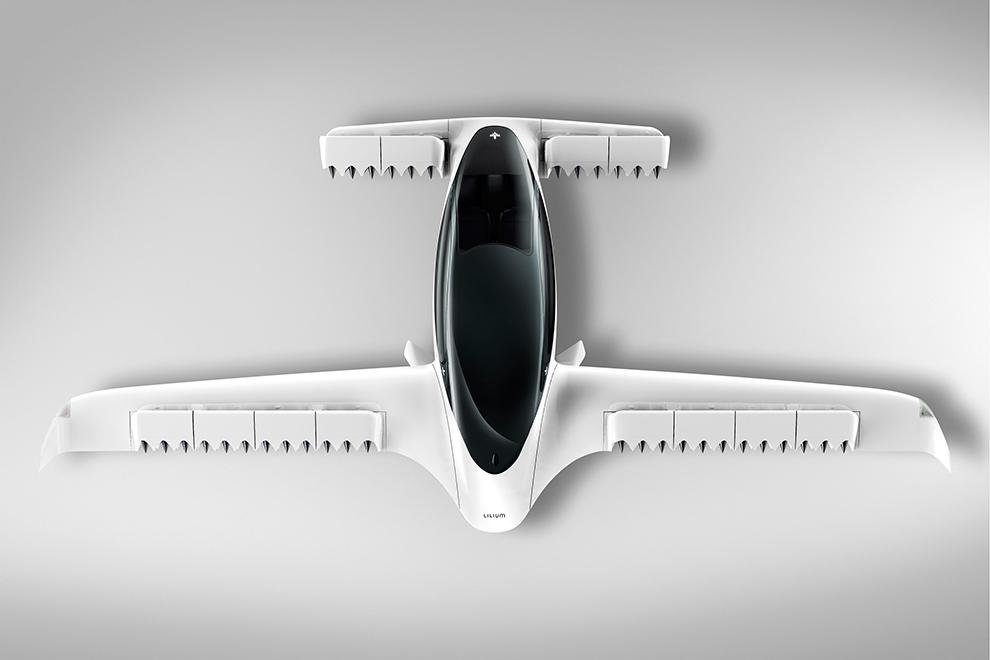 Прошли первые испытания пятиместного летающего такси хай-тек