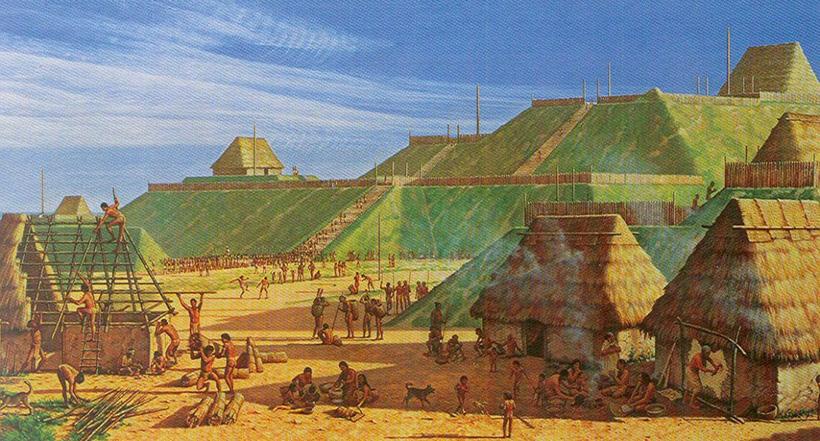 Лунный город Археология