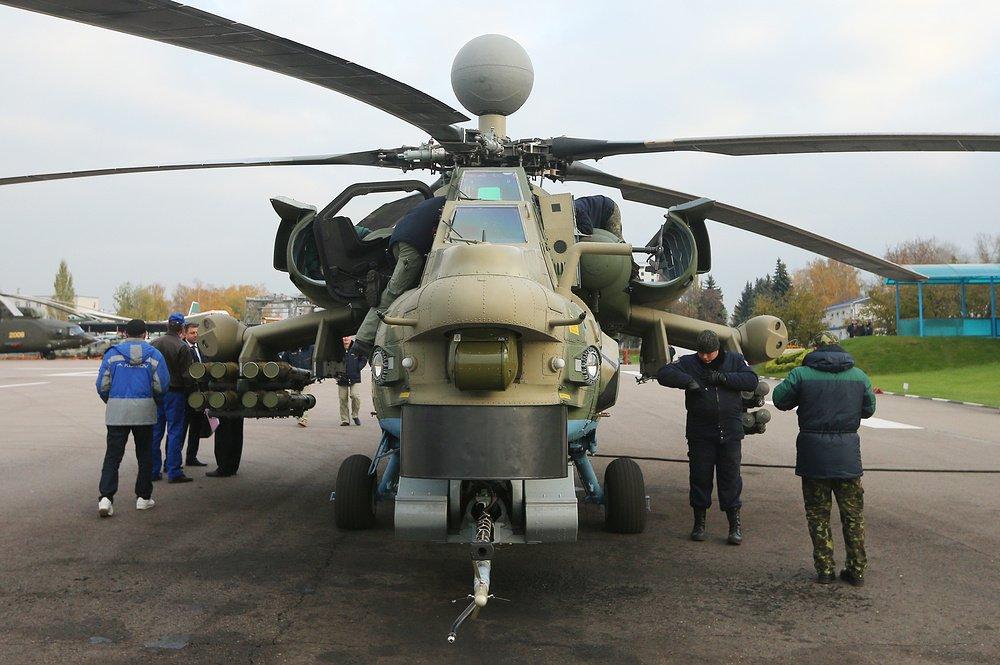 Президент принял решение о производстве 100 вертолетов Ми-28НМ Армия и флот