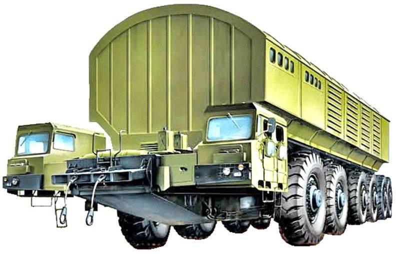 Белорусская «Целина». Неизвестный проект МАЗ-7904 оружие