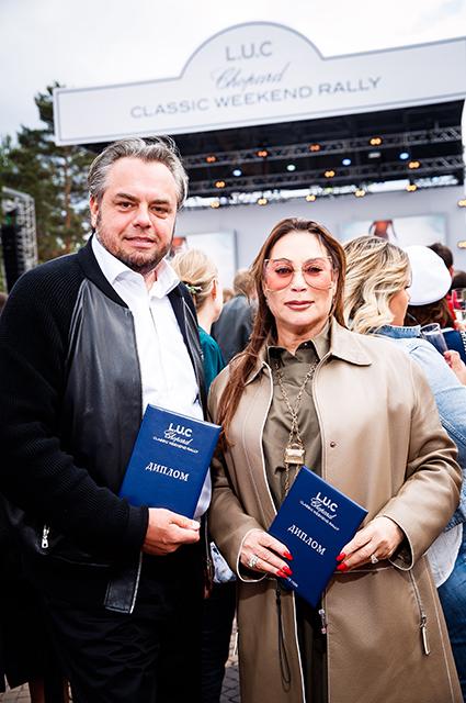 Алла Вербер, Андрей Малахов, Зара и другие на ралли в Москве Светская жизнь