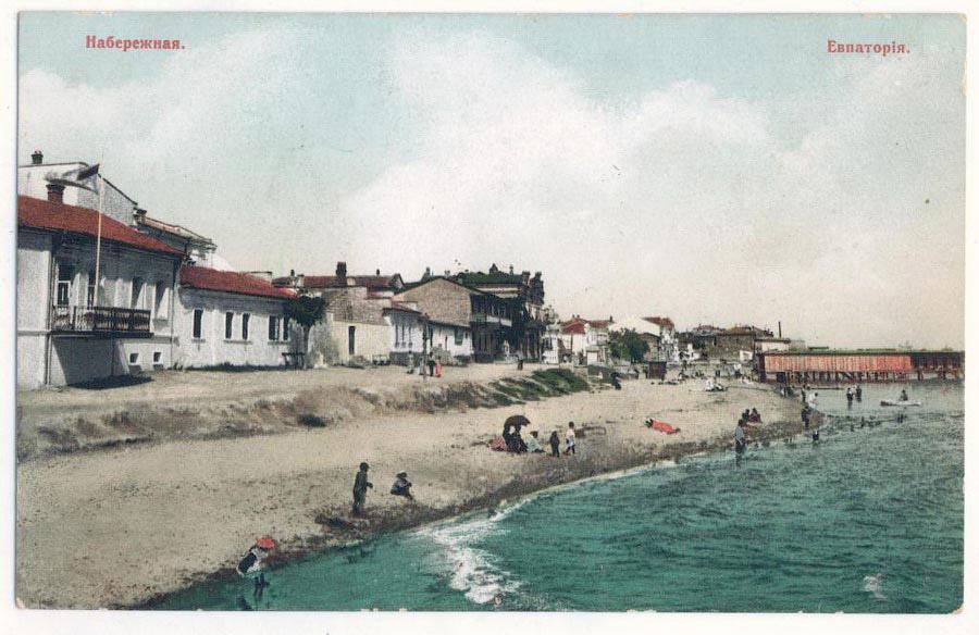 Как выглядели путешествия в Крым столетней давности... 20 век,Крым,фоторепортаж