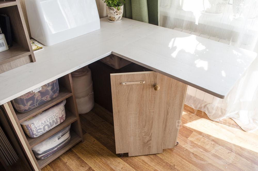 Делаем стол для рукоделия интерьер,своими руками,стол для рукоделия
