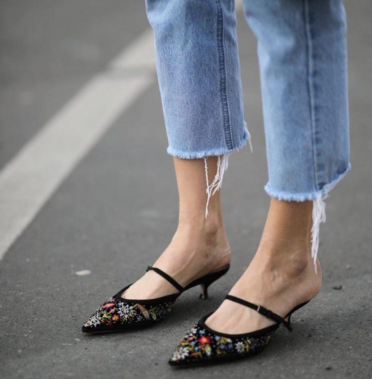 Обувь на низком ходу, которая будет актуальна влетом 2019. Красиво и удобно! лето 2019,мода,модный обзор,обувь,стиль,тренды