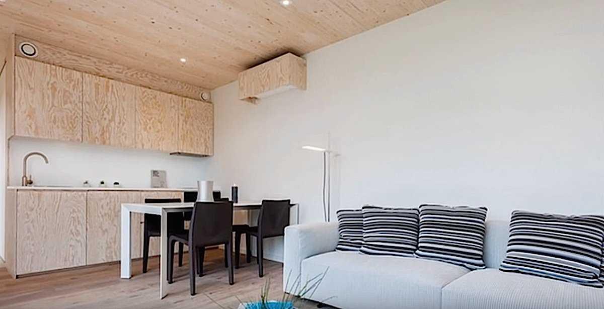 Внутри дешевых, крошечных и красивых домов будущего, в которых возможно мы с вами еще поживем архитектура,интерьер и дизайн,модульное жилье,технологии будущего