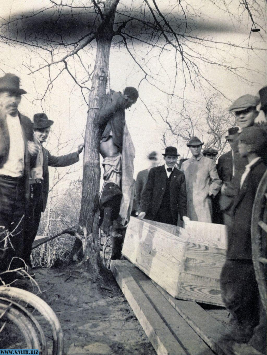 Линчевание в США история