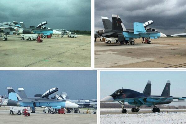 Зачем американцы перекрашивают свои самолеты в расцветку Су-57? новости,события