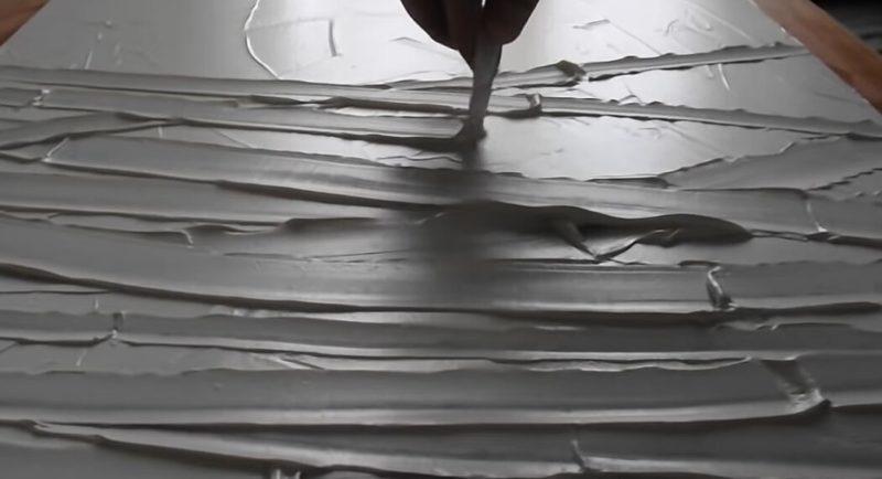 Если соединить шпаклёвку + пластиковую ложку, то получится интересный декор: видео декор, домашний очаг, ремонт, рукоделие, своими руками