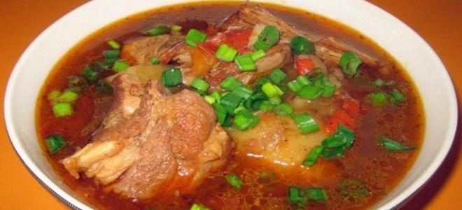 Шурпа в казане - восхитительно аппетитное блюдо! кулинария,кухни мира,рецепты,супы,шурпа