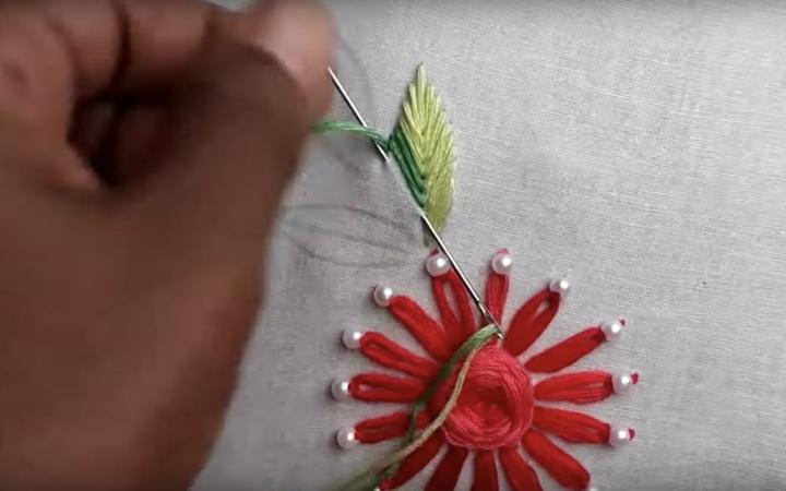 Использование шумовки не по прямому назначению вышивка,рукоделие,своими руками