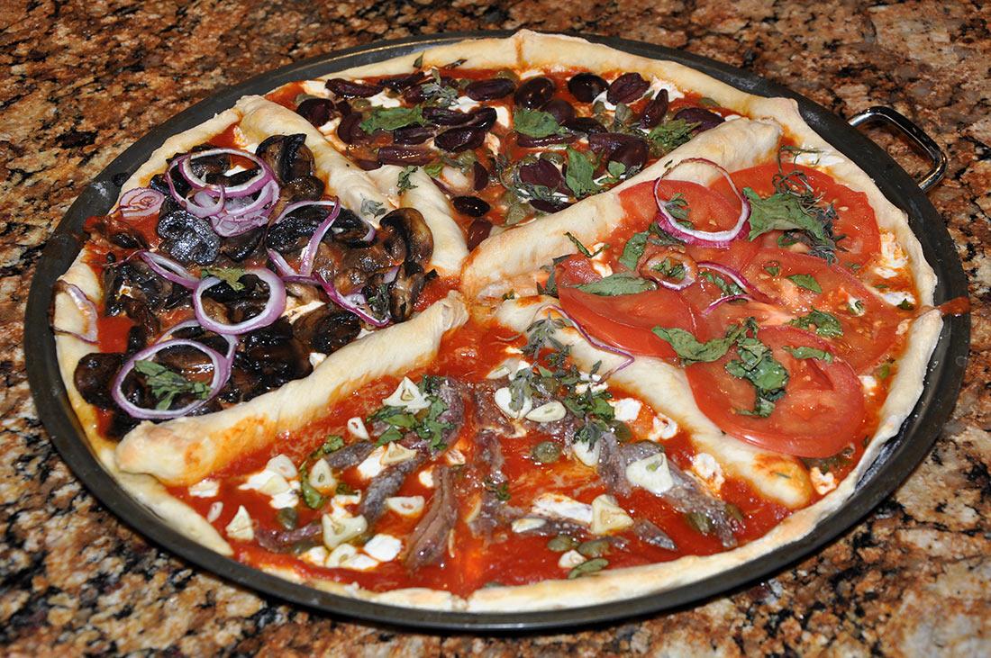 10 самых вкусных разновидностей итальянской пиццы мир,страны