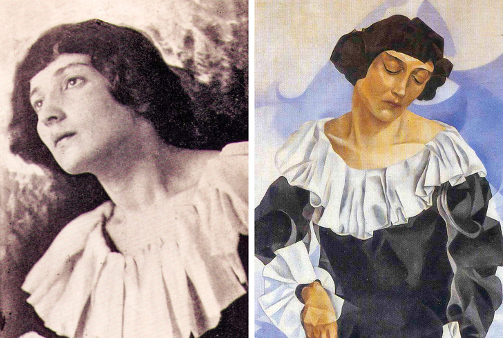 Как в реальности выглядели 14 женщин с полотен великих художников всемирная история,жзл