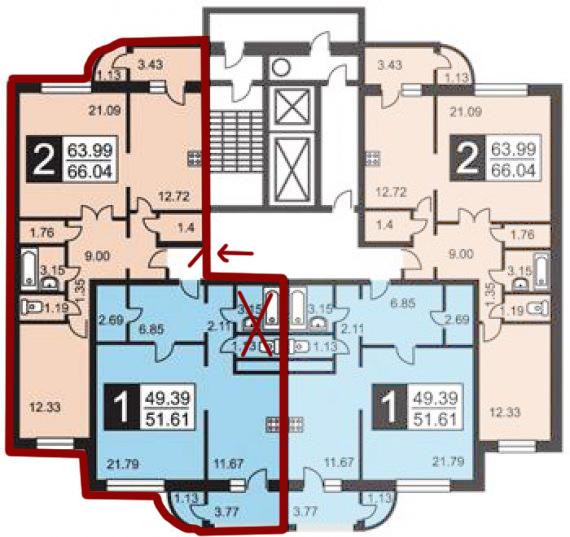 Как законно объединить две квартиры в одну советы