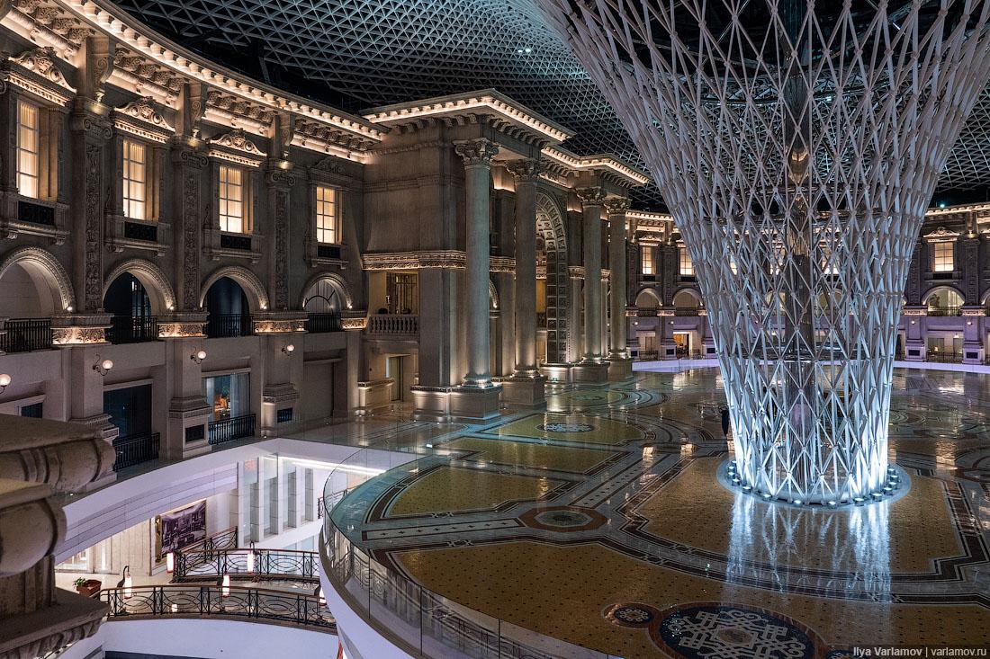 Шанхай и Гуанжчоу: отель в карьере и мебельный рай города,страны,туризм