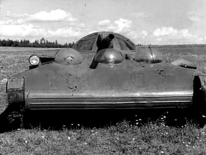 «Объект 760»: Советский танк на воздушной подушке, под которым не срабатывали мины военная техника,Объект 760,СССР,танк