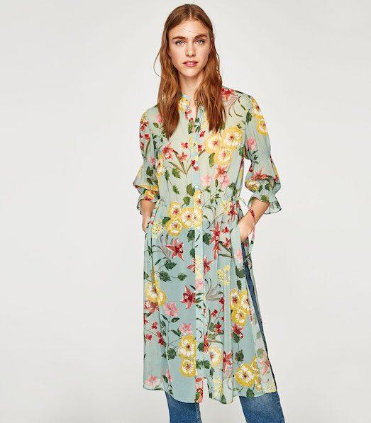 С чем носить стильную длинную рубашку? лучшее,мода,модные советы,Наряды