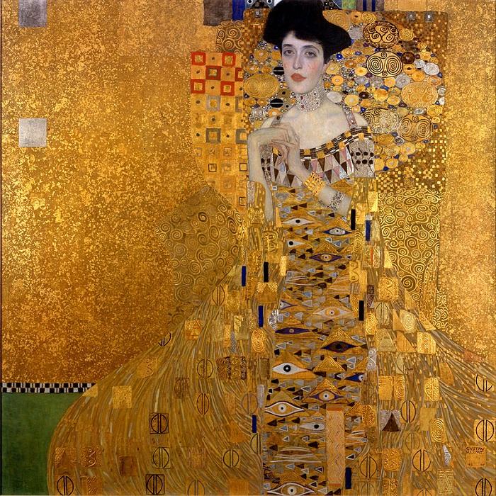 Портрет Адель Блох-Бауэр I. Автор: Gustav Klimt.