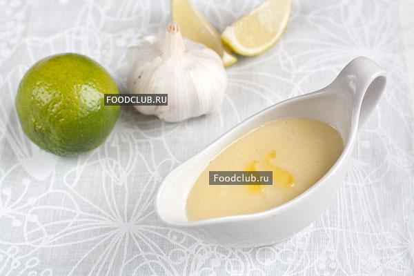 Чесночный соус кулинария,рецепты,соусы
