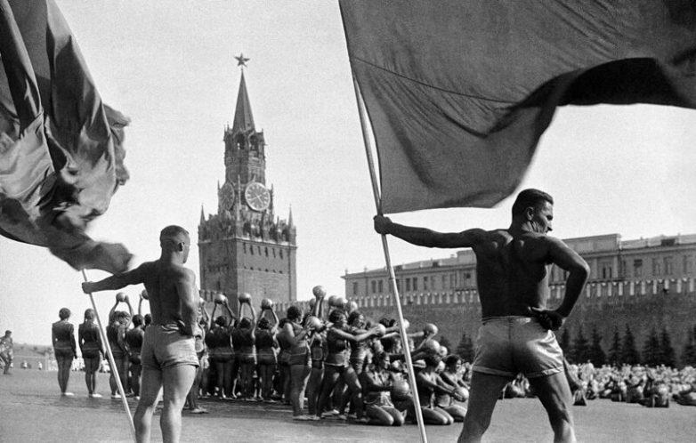 Парады физкультурников в СССР
