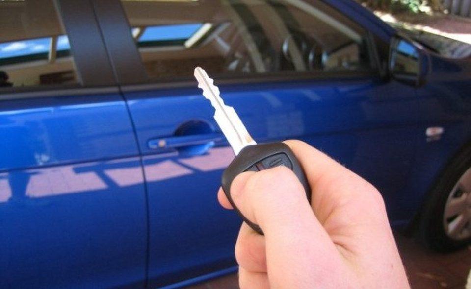 ключі двері для автомобіля